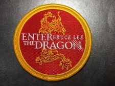 Bruce Lee Enter The Dragon High Quality Embroidered  Patch Jeet Kune Do