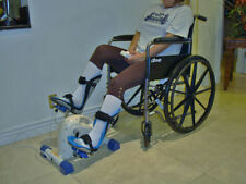 Foot splints + Motorized Exercise Cycle / Bike for the Handicap & disabled