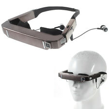 VISION-800 3D Video Retina Smart Super Glasses Player Camera Music Browser Etc