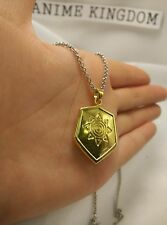 USA Seller Cosplay Digital Monster Digimon Wargreymon Courage Badge Necklace