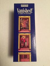 Vanished! A Game of Mystery bePUZZLED board game 1992 New in box