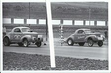 """1970s Drag Racing-1940 Willys Coupe-""""HESITATION""""-C/Gas-S&W SPEED SHOP"""