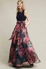 ANTHROPOLOGIE NWT SZ 2 BLOOMING BOW DRESS BY MOULINETTE SOEURS FABULOUS GOWN!!
