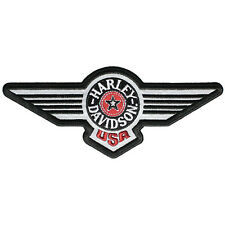 "Harley-Davidson Aufnäher / Emblem ""FAT BOY REFLECTIVE"" Patch *EM753823*"