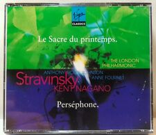 Stravinsky: Le Sacre du Printemps; Pers'phone (CD, Jun-1996, Virgin) (cd4837)