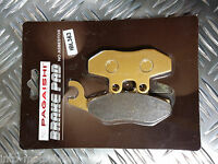 SEMI METAL FRONT BRAKE PADS FOR VESPA GTS 125 07-11 F