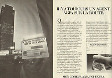 Publicité 1998 ( Double page )  Copieur Agfa Gevafax X12  AGFA-GEVAERT