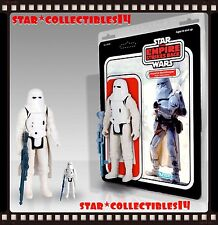 "Star Wars Jumbo 12"" Vintage Kenner Imperial Snowtrooper Hoth Battle Gear Figure"