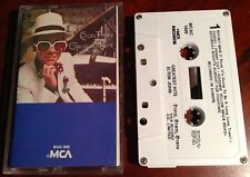 Greatest Hits by Elton John Cassette Rocket Man, Daniel, Honky Cat