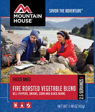Mountain House Fire Roasted Vegetable Blend 2-Serving Freeze Dried Camping Food