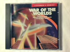 ORSON WELLES War of the worlds cd RARISSIMO VERY RARE MINT -