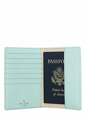 NEW Kate Spade Wedding Belles Best Friend Ever Passport Holder Case Grace Blue