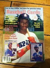 KEN GRIFFEY JR. ROOKIE YEAR JUNE 1989 BASEBALL CARDS MAGAZINE BBC CARDS INSIDE