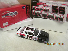 1987  Ernie Irvan #56 Dale Earnhardt  Limited Edition #1,034 C/W Bank 1:24 Scale