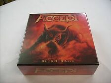 "ACCEPT - BLIND RAGE - LTD. EDITION BOXSET CD+BLURAY+2x7""+GADGETS - NEW SEALED"