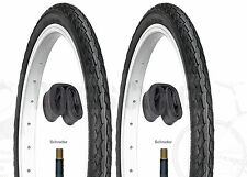"(Pair of) 16"" x 1 3/8"" Tyres & Inner Tubes to fit Brompton / Mezzo 32-349"