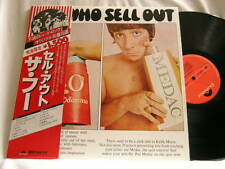 THE WHO Sell Out Polydor JAPAN LP Pete Townshend Keith Moon Roger Daltrey 1980