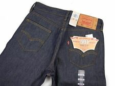 LEVIS 501 RIGID SHRINK-TO-FIT BLUE DENIM JEANS #0000 38 X 30 ORIGINAL FIT NEW