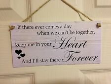 Friendship Sign Best Friend Gift Novelty Shabby Chic Plaque - In Your Heart