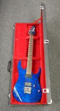 2012 Ibanez Premium RG920QM RH Electric Guitar w/ Case (Cobalt Blue)