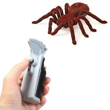 Remote Control Infrared RC Tarantula Spider Prank Toy Kid Gift 2-Channels M