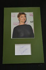 SHARON LAWRENCE sexy signed  Autogramm  20x30  Passepartout NYPD BLUE STAR TREK