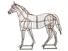 Horse Metal Wire Topiary Frame