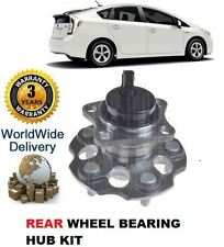 FOR TOYOTA PRIUS 1.8 HYBRID VVTi 2012-  NEW REAR WHEEL BEARING HUB ASSEMBLY KIT
