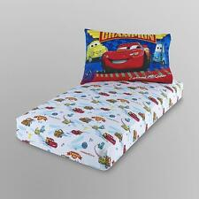 PIXAR CARS Disney Licensed 2 Pc Toddler Bedding Cot Sheet Set BRAND NEW