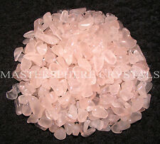 1KG Rose Quartz Mini Chip Tumblestones 3mm-5mm Crystal Gemstone Wholesale