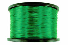 Magnet Wire 24 AWG Gauge Enameled Copper 155C 5lb 3950ft Magnetic Coil Green