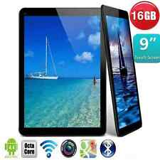 "9"" inch Google Android 4.4 Quad Core 16GB Dual Camera Pad Tablet PC Black EUPlug"