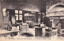 LE MANS 52 LL maison de la reine bérengère la chambre à coucher écrite 1923
