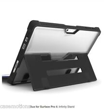 STM Dux Rugged Protective Case for Microsoft Surface Pro 4 - Clear Black