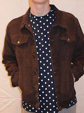 RUN & FLY 60'S/70'S RETRO VINTAGE STYLE CORD WESTERN JACKET