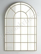 "Neiman Marcus 66"" PALLADIAN ARCH Wall Mirror Gold HORCHOW Architectural Window"