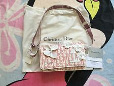 Authentic Christian Dior Girly Flap Reporter Bag