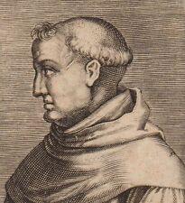 Portrait XVII Louis de Grenade Dominicain Fray Luis de Granada Louis of Granada