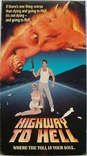 Highway to Hell (VHS, 1992) Patrick Bergen, Kristy Swanson, Chad Lowe, Rare, OOP