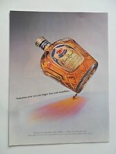 2003 Print Ad Crown Royal Whiskey ~ Eyes are Bigger Than Your Mandibles