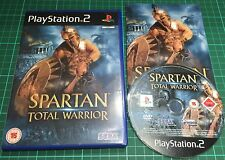Spartan Total Warrior For Sony PS2, Playstation 2, Complete