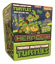 TMNT HeroClix - Heroes in a Half Shell Gravity Feed Display Box - 24 Boosters!