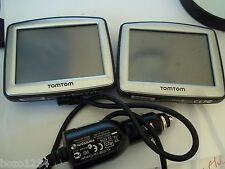 2 PIECE GPS LOT  ORIGINAL TOMTOM ONE N14644 CANADA 310 WITH CAR CHARGER bundle