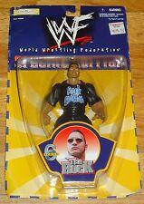 1999 WWF WWE Jakks The Rock Dwayne Johnson Wrestling figure MOC Special Edition