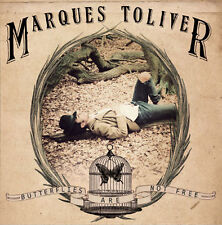 "MARQUES TOLIVER Butterflies Are Not Free 2011 UK 1-sided etched vinyl 12"" NEW"