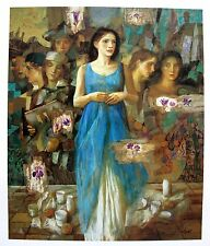 Goyo Dominguez ALBA Hand Signed Limited Edition Giclee