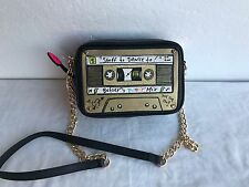 NWT Authentic Betsey Johnson BJ53960 KITCH MIX TAPE XBODY Crossbody Bag