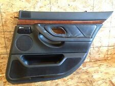 BMW OEM E38 740IL REAR PASSENGER RIGHT SIDE LEATHER INNER DOOR CARD COVER PANEL