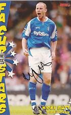 BIRMINGHAM: NICKY BUTT SIGNED A4 (12x8) MAGAZINE PICTURE+COA