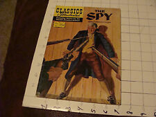 Vintage Comic book: 15 cent Classics Illustrated: #51 THE SPY cooper